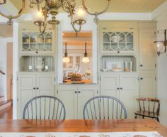 Dining Room Built-In - traditional - dining room - bridgeport - CK Architects
