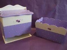 Resultado de imagen para ver porta rollos calados decorados Decoupage, Juegos Baby Shower Niño, Kids Wardrobe, Covered Boxes, Sisal, Toy Chest, Storage Chest, Toddler Bed, Painting