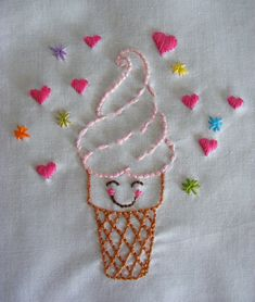 New diy baby sewing patterns stitches ideas Hand Embroidery Videos, Baby Embroidery, Simple Embroidery, Hand Embroidery Stitches, Embroidery Hoop Art, Hand Embroidery Designs, Embroidery Applique, Cross Stitch Embroidery, Broderie Simple