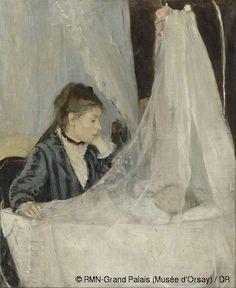 The Cradle 1872 | Berthe Morisot