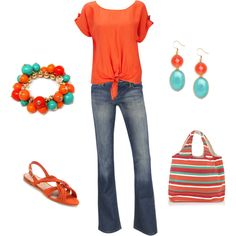 Orange Crush, created by lislyn.polyvore.com