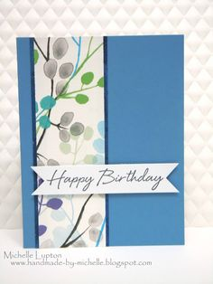 Handmade by Michelle: A bunch of simple cards