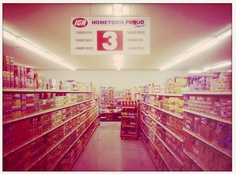 Crestview Minimax IGA located at 7108 Woodrow Ave. The Austin, Austin Texas, Canned Juice, Old Pictures, Brewery, The Neighbourhood, Rest, Memories, History