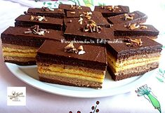 Web Confectionery – For homemade cake lovers – pastry types Hungarian Cake, Mousse, Sweet Cakes, Cookie Desserts, Homemade Cakes, Confectionery, Cake Cookies, Chocolate Cake, Creme