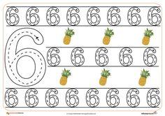 13grafomotricidad numeros | El Portal de Educapeques Tot School, Worksheets, Preschool, Teaching, Activities, Portal, Numbers, Kids, Touch