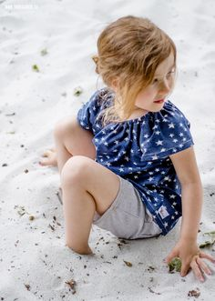 theblogbook | sewing | shorts and cute little tunic, lillestoff, stars