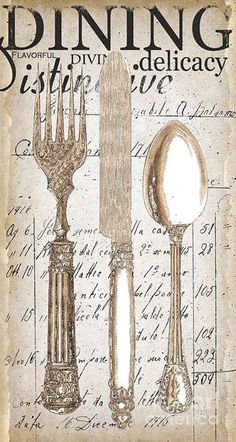 Silverware ephemera
