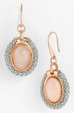 Adami & Martucci Mesh Stone Drop Earrings available at #Nordstrom
