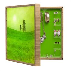 Viviana Gonzalez Trees And Shinning Field I BlingBox Petite | DENY Designs Home Accessories