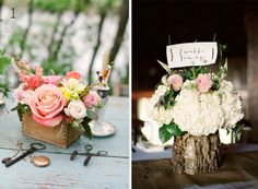 Rustic Centrepieces For Weddings