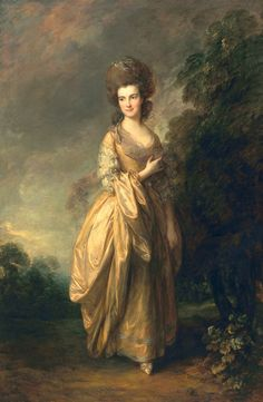 Thomas Gainsborough, Portrait of Elizabeth Beaufoy, ca. 1780, oil on canvas. The Huntington Library, Art Collections, and Botanical Gardens.