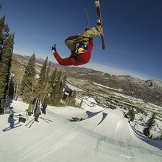 Big ups to GoPro athlete Bobby Brown for advancing to the Ski Slopestyle finals at @XGames! No surprise there.. #gopro #goproX #xgames #aspen - @gopro