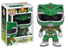 Pop! TV: Power Rangers Go Go Power Rangers! The original Mighty Morphin Power Rangers are ready for battle! Between the Green Ranger's martial arts skills, Black Ranger's strength, Yellow Ranger's quick wit, and Blue Ranger's intelligence, there's nothing they can't overcome! Complete your Pop! Power Rangers collection this August!