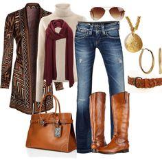 """""""Fall fashion"""" by kerdman37 on Polyvore"""