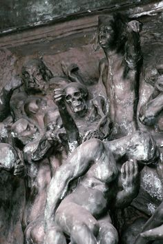 Rodin, Gates of Inferno sculpture Sculpture Clay, Abstract Sculpture, Metal Sculptures, Bronze Sculpture, Auguste Rodin, Antoine Bourdelle, Carpeaux, Gates Of Hell, Camille Claudel