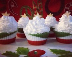 Items similar to Savon de Noël, Cupcake on Etsy Christmas Soap, Noel Christmas, Soap Cake, Savon Soap, Whipped Soap, Homemade Soap Recipes, Organic Soap, Soap Packaging, Glycerin Soap