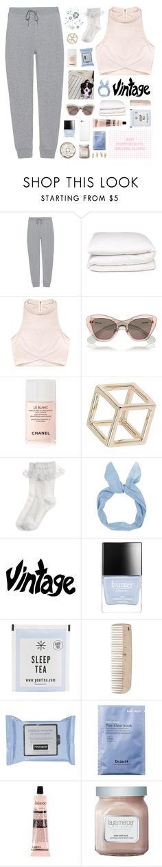 """""""fill my heart with song"""" by lucidmoon ❤ liked on Polyvore featuring T By Alexander Wang, Selfridges, Rituals, Miu Miu, Chanel, Topshop, Monsoon, Butter London, HAY and Black Apple"""