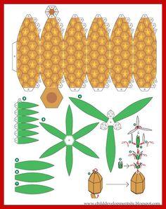 pineapple-from-paper.jpg (1013×1277)