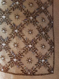 Bead Embroidery Patterns, Beaded Embroidery, Cross Stitch, Beads, Rugs, Sewing, Decor, Stencil, Bead