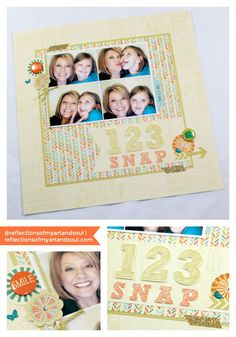 CTMH Hopscotch Meets Up with Scrapbook Challenges Sketch 422