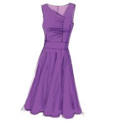 """Lower waistline, reduce a tad of the fullness of skirt - very flattering, if only I would tone up these """"granny arms."""""""