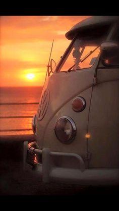 #sunset #beautiful #lovebus
