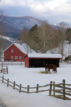 Quaint farm in Vermont