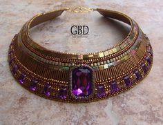 Guzel Bakeeva / GBD; really like the flat square beads in many of her pieces. http://guzelbakeeva.ru/