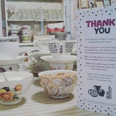 Nearly ready for our MacMillian Coffee Morning tomorrow Saturday 26th September at 'The Little Welsh Dresser'! Hot drinks from 10am to midday and lots of amazing handmade cakes bakes cupcakes and more until sold! #coffeemorning #Llandeilo