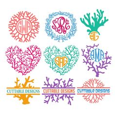 Cricut Monogram, Monogram Decal, Monogram Frame, Monogram Fonts, Cricut Vinyl, Vinyl Decals, Monograms, Apex Embroidery, Embroidery Designs