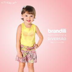 As tendências de moda infantil no Verão 2015 Brandili \o
