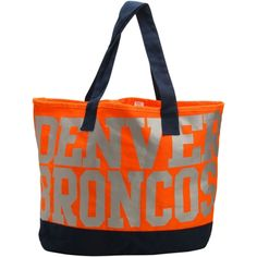 Women's Denver Broncos Print Tote Bag