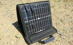 SunVolt is a portable solar charger that claims to charge your devices as quickly as any traditional outlet. That is, if you have a clear day. Still, the iPad looking device reportedly converts 95 percent of the sun it soaks up into energy.