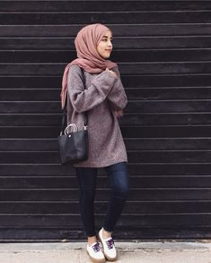 Formal Office Wear For Muslimah- Are you an office going lady who is looking for some hijab office look ideas? If you are a true lover of the hijab and want to Oufits Casual, Casual Hijab Outfit, Hijab Chic, Casual Outfits, Office Outfits, Hijab Fashion Casual, Ootd Hijab, Stylish Hijab, Street Hijab Fashion