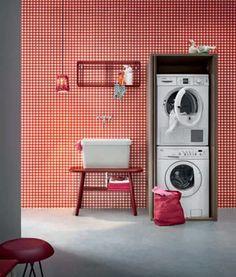 mobile porta lavatrice e asciugatrice ante a scomparsa | MOBILI ...
