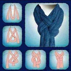 Comment nouer son écharpe #CpourL