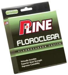 P-Line Floroclear Mist Green Fishing (Filler Spool)