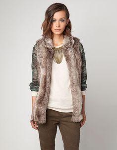 Bershka Greece - Bershka faux fur vest