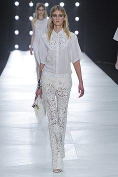 Spring 2013 Trend: The Amazing Lace  (Roberto Cavalli RTW Spring 2013)