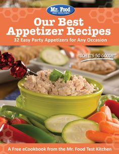Our Best Appetizer Recipes: 32 Easy Party Appetizers for Any Occasion - Celebrate with friends any day of the year with these super simple and homemade appetizer recipes! #free #eCookbook