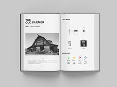 The Old Farmer Identity Book Preview [ WIP ]. More picture soon in Behance portfolio.
