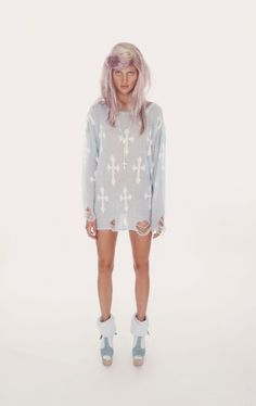 "wildfox white label ""gothic cowgirl"" sweater"