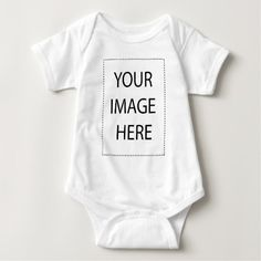 Make It Your Own Baby Bodysuit