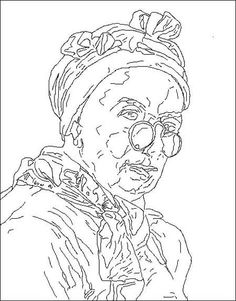 Color your own mary cassatt masterpieces 1 best mary for Mary cassatt coloring pages
