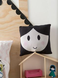Dollface Cushion 45x45cm