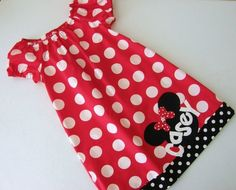 Great Disney dress if it's just a bit too cool for a pillowcase one