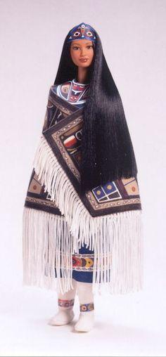 Northwest Coast Native American -- 1999 Barbie Doll