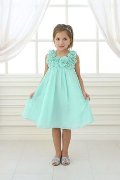 cb8951db1 Mint Green Flower Girl Tulle Dress. Mint Wedding Toddler Girls Dress ...
