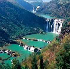 Jiulong Falls, Yunnan province, China