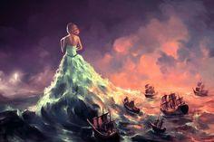 Calypso by digital artist Cyril Rolando